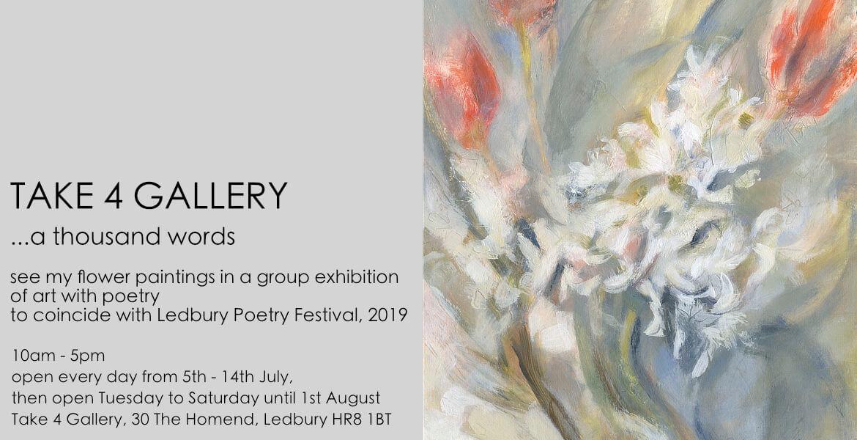 A Thousand Words Exhibition - Take 4 Gallery, Ledbury - Pippa Meddings