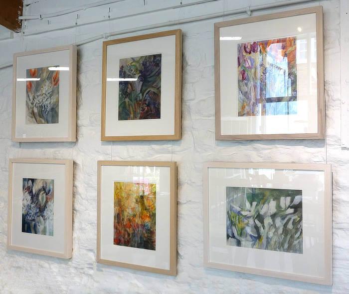 Pippa Meddings, plant paintings - h.Art 2018 - Blue-GInger Gallery
