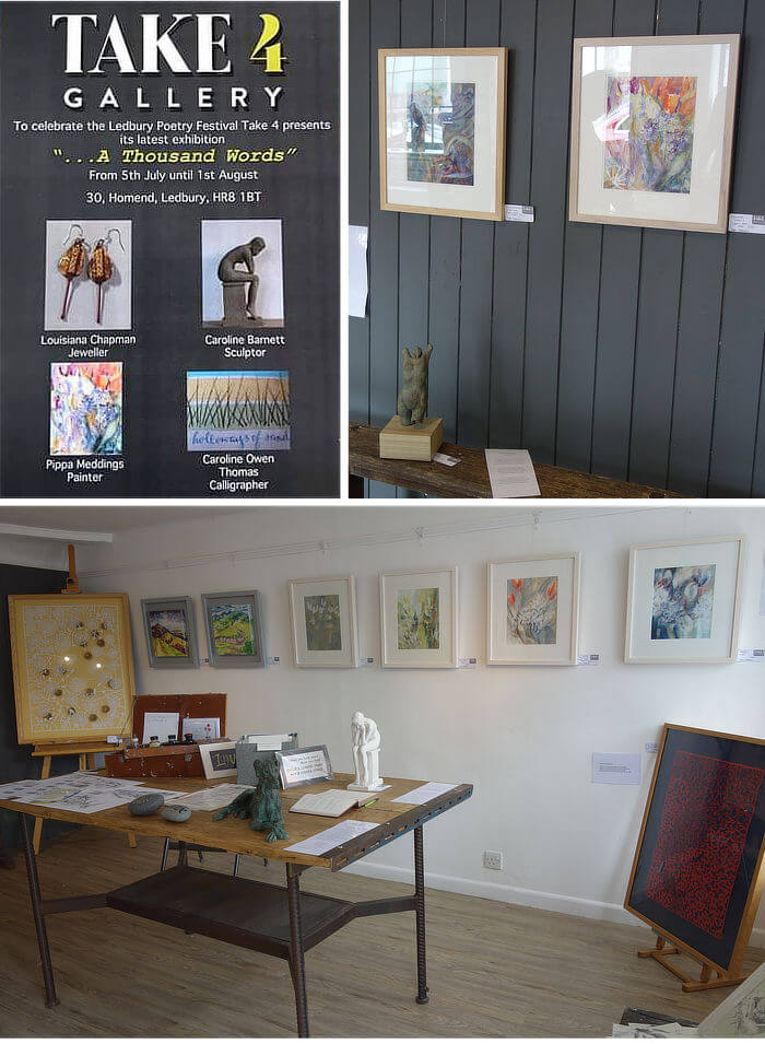 a thousand words exhibition - take 4 gallery ledbury photos - pippa meddings