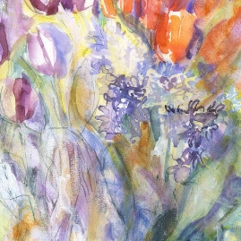 Hyacinths and Tulips 1